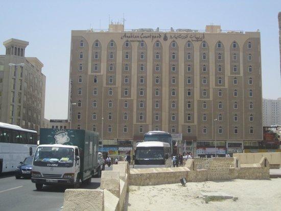 Arabian Courtyard Hotel & Spa: Taken from near Dubai museum