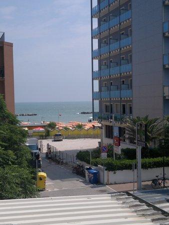 Hotel Promenade: dal balcone della camera, vista mare