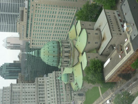 Montreal Marriott Chateau Champlain : View from our room