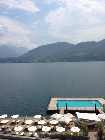 Grand Hotel Tremezzo: view from our rooom