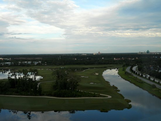 Hilton Orlando Bonnet Creek: View from our room