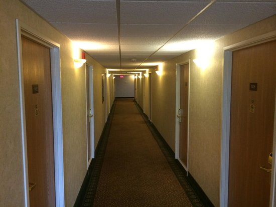 BEST WESTERN Baraboo Inn: Hotel Hallway