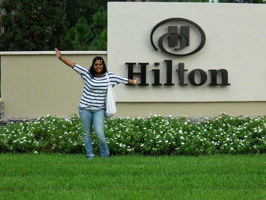 Hilton Orlando Bonnet Creek : Me at Hilton Bonnet Creek