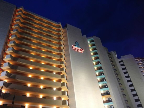 The Patricia Grand, Oceana Resorts: The Patricia Grand at night