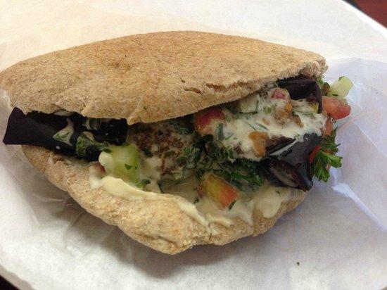 Pita House: Falafel Pita on Whole Wheat
