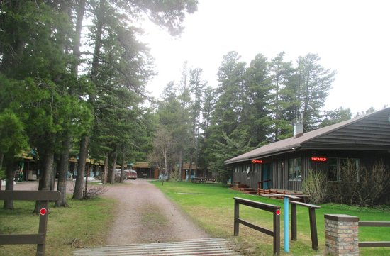 Mountain Pine Motel: Motel Grounds