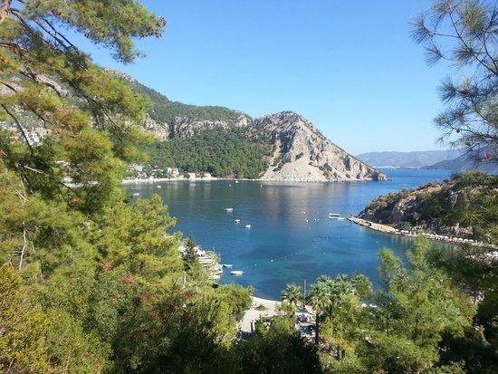 Turunc Hotel: Вид на море