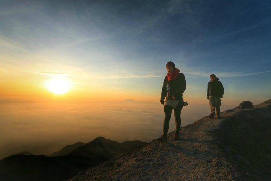 Merapi Volcano: Summit sunrise
