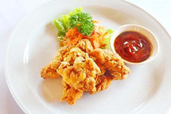 Tori karaage, japanese fried Chicken, oishii yo... - Picture of Warung ...