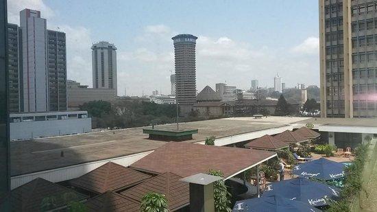 Hilton Nairobi: View