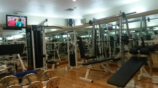 Hilton Nairobi: Gym - a good one