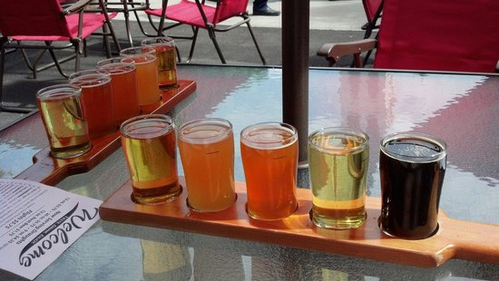 Cortland Beer Company: Our beer flights