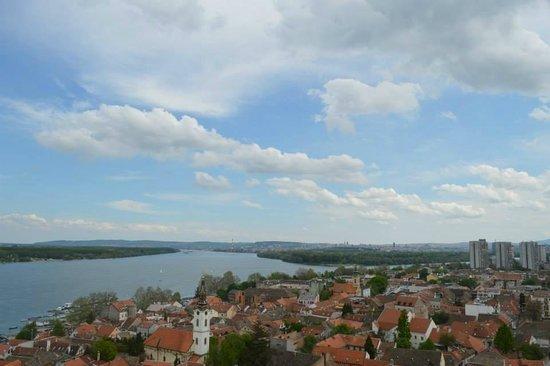 Gardos - Tower of Sibinjanin Janko : Zemun and Beograd
