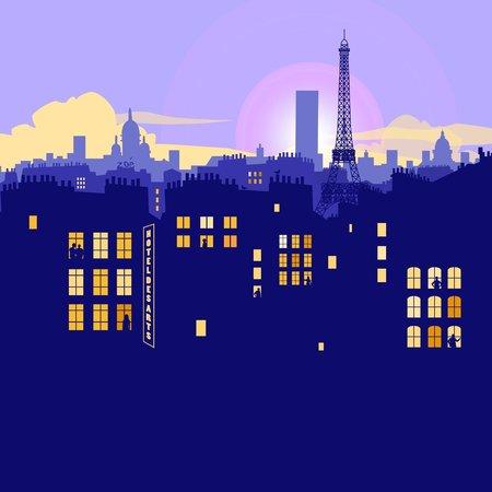 Hotel des Arts Bastille : Les toits