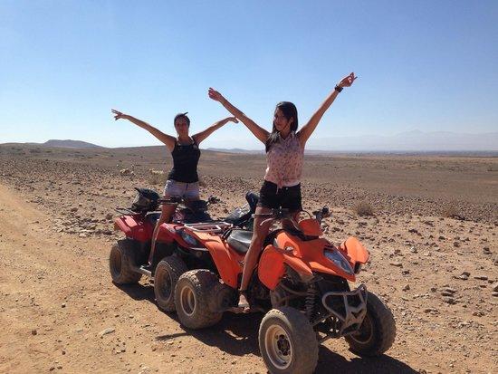Maroc Quad Passion : Palmerais désert Marrakech