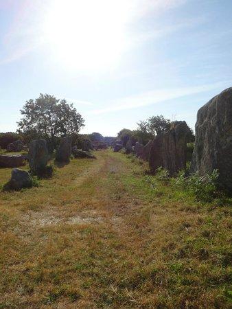 Erdeven, France : Alignement
