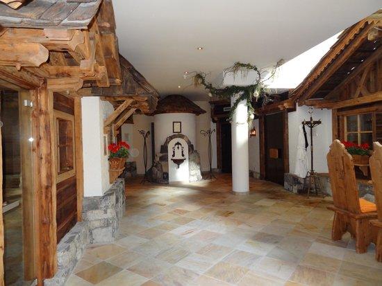 Hotel Gardena Grodnerhof : Différents saunas