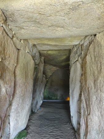Site des Mégalithes de Locmariaque : Couloir de la Table des Marchands
