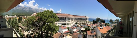 Barut Kemer: Panoramic view from our room (1307)