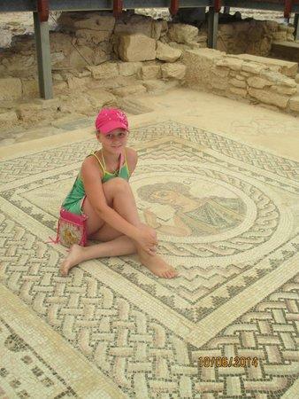 Kourion (Curium): мозаики Куриона