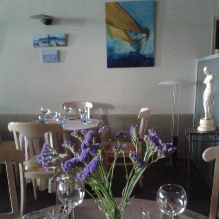 Le Moulin De Mykonos : Notre salle