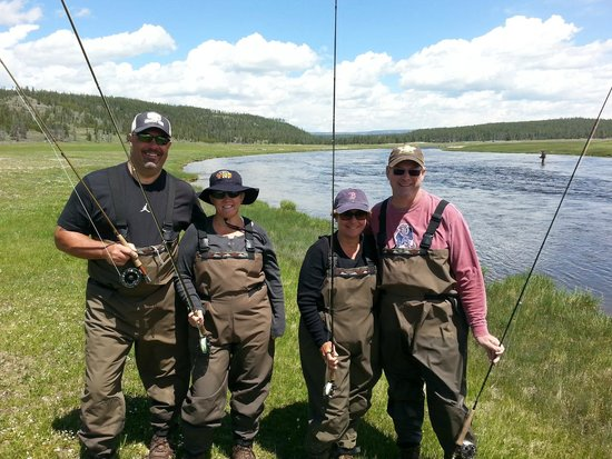 Arrick's Fly Shop and Fly Fishing Tours: Firehole River Fishermen......