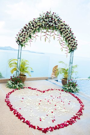 Sandalwood Luxury Villas : Wedding ceremony
