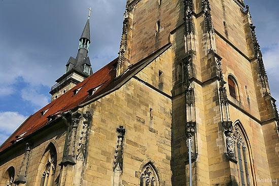 Collegiate Church of the Holy Cross (Stiftskirche): シュトゥットガルト シュティフト教会