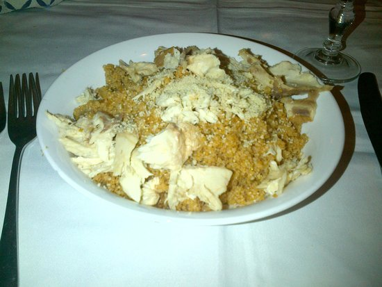Cantina Siciliana : couscous di pesce