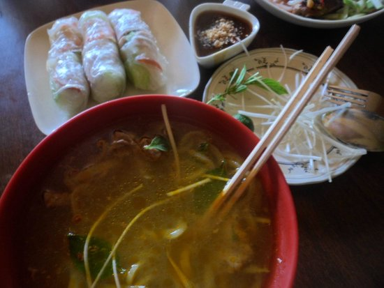 Rene's Saigon : Beef Stew and Fresh Spring Roll