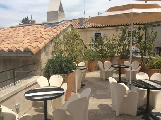 Rooftop Terrace Picture Of Hotel Du Cloitre Arles Tripadvisor