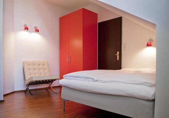 Hotel KUNSThof: Economy Doppel mit Gartenblick