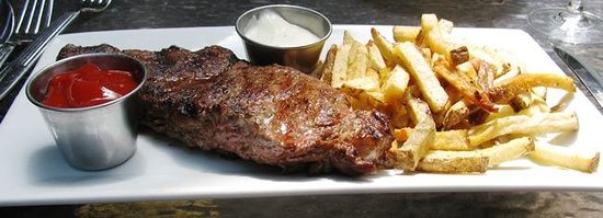 Gables At Chadds Ford: Steak Frites