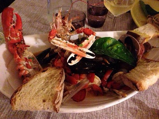 Hotel Ristorante Garden : Zuppa di pesce