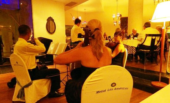 Melia Las Americas: a classical quarter in the international dining room