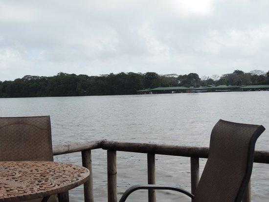 Pachira Lodge: Vistas a Tortuguero