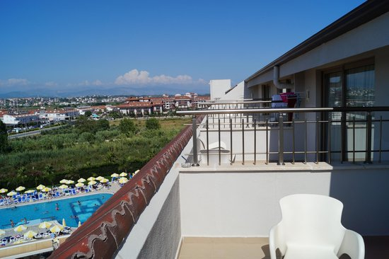 Seher Sun Palace Resort & Spa : Terrace Seher Sun Palace