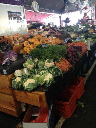 Queen Victoria Market : Farm-fresh vegetables