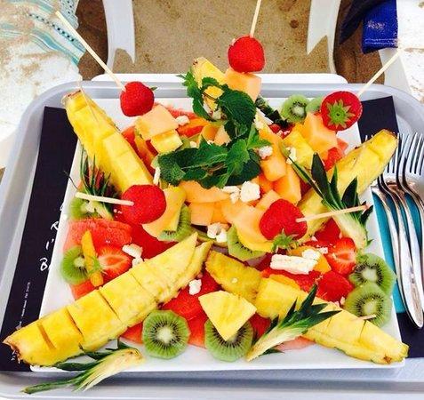 L'Alba : Salade de Fruit du jour.