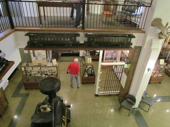 Adams Museum: from 3rd floor (2nd floor, there is also a basement)