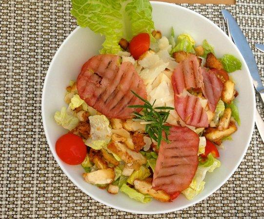 L'Alba : La salade César.