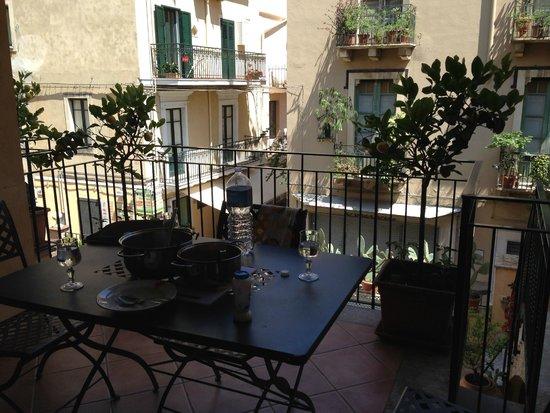 Residence degli Agrumi: Ausblick vom Balkon