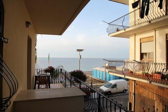 Hotel San Pietro: Oké, uitzicht op zee !?
