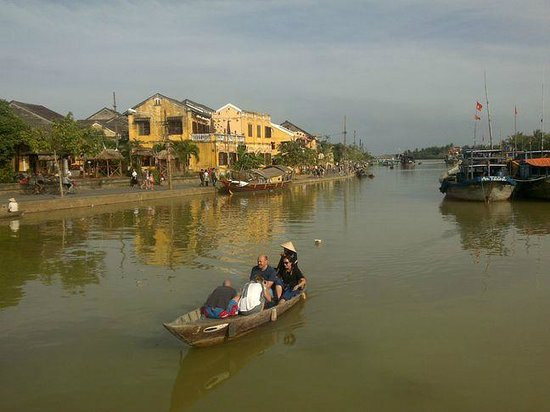 SacLo Homestay and Hostel: Hoi An river