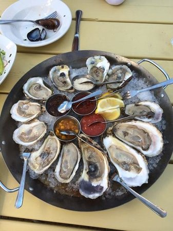 Waterfront Warehouse Restaurant: fabulous Oysters