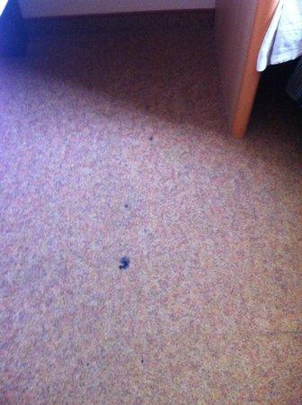 Ibis Augsburg Königsplatz: Dirts on the floor after clean up