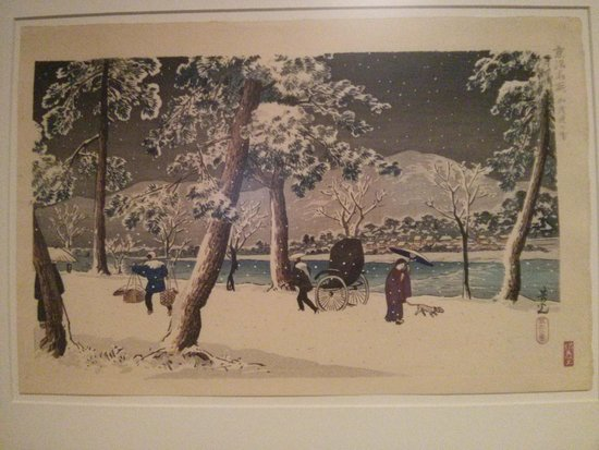 Tikotin Museum of Japanese Art: Winter scenes