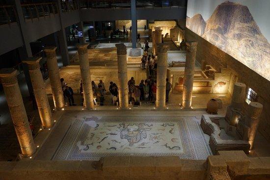Musée archéologique de Gaziantep : Zeugma Mozaik Müzesi 10
