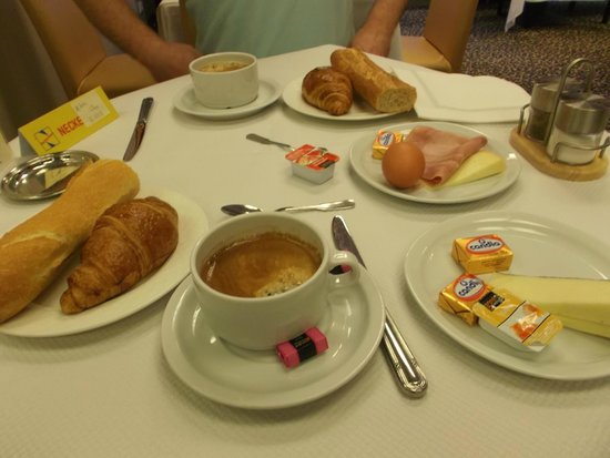 Miramont Hotel: Petit déjeuner