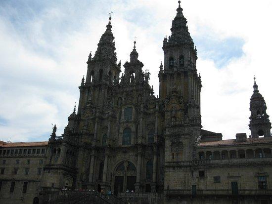 Cathédrale de Saint-Jacques-de-Compostelle : Catedral de Santiago